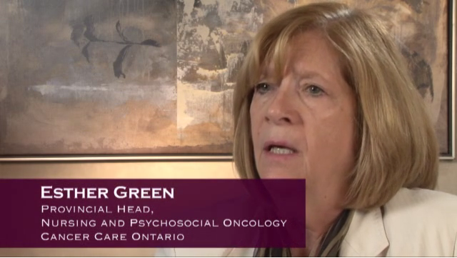 Esther Green of Cancer Care Ontario on Health System Navigators
