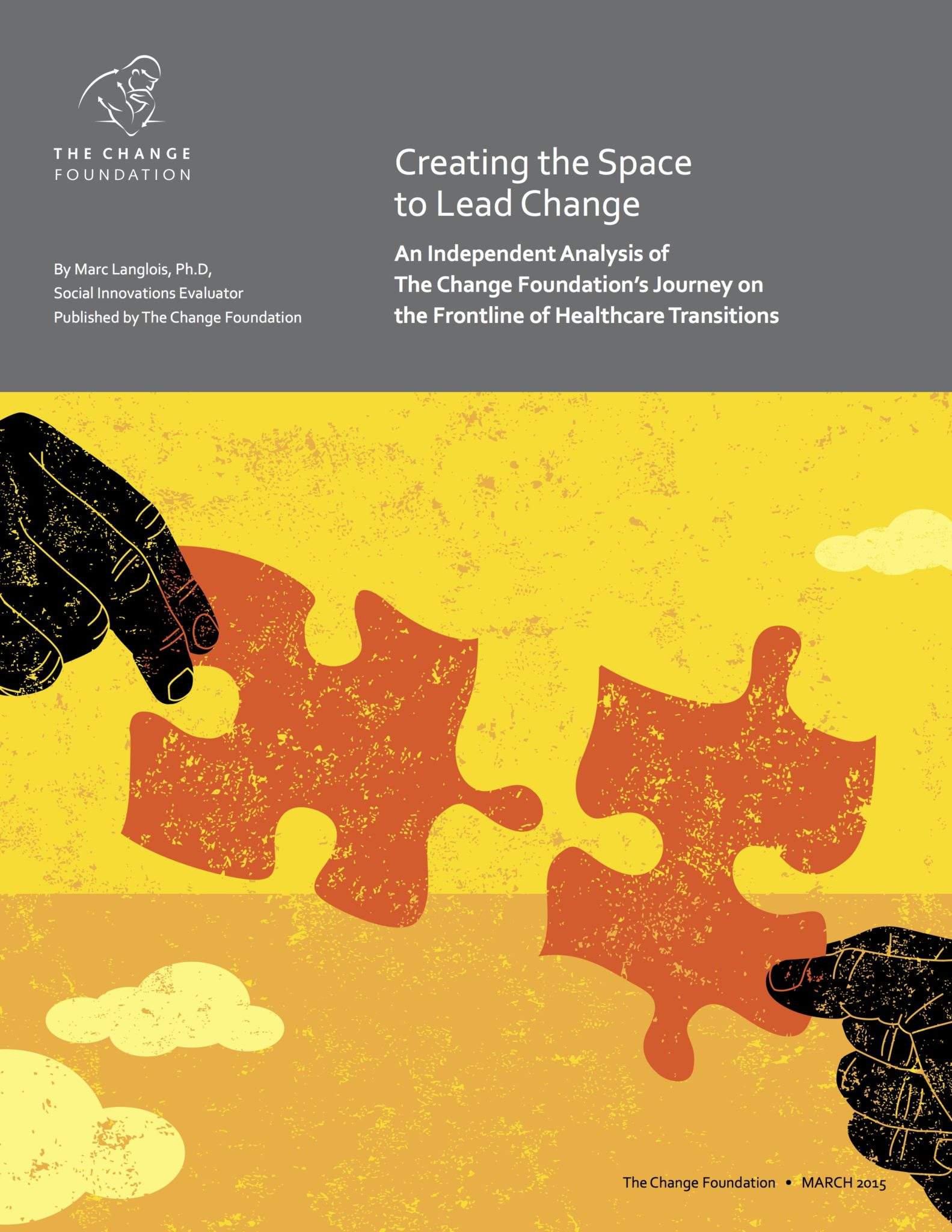 Cover of Report: Creating the Space to Lead Change