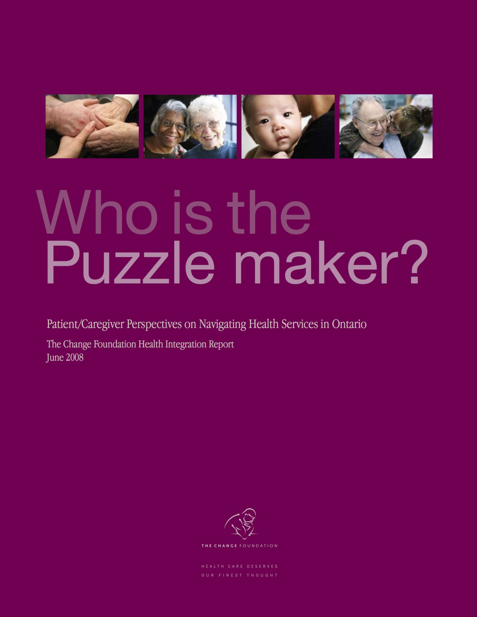 Who is the Puzzle Maker?