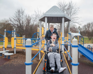 Lisa-and-Chase, family caregiver