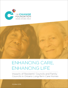 Enhancing Care, Enhancing Life - Long-Term Care Councils