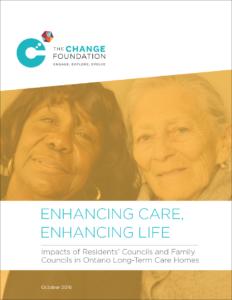 Enhancing Care, Enhancing Life report cover