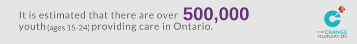 There are estimated to be over 500,000 young carers in Ontario