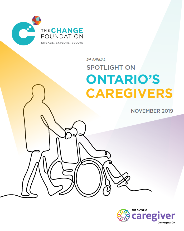 Spotlight on Ontario's Caregivers 2019 - Report cover