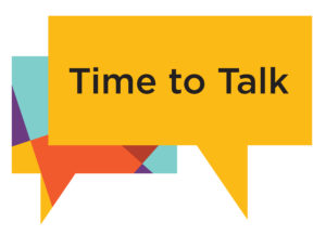 Logo for the Time to talk toolkit