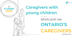 A closer look - Caregivers with young children report