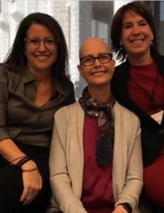 Jodeme Goldhar, Eileen Dahl and Stacey Daub