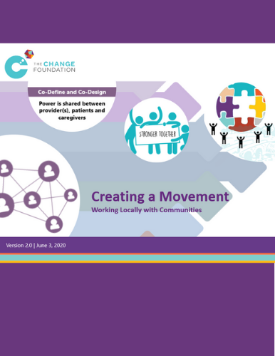 presentation cover of creating a movement slides